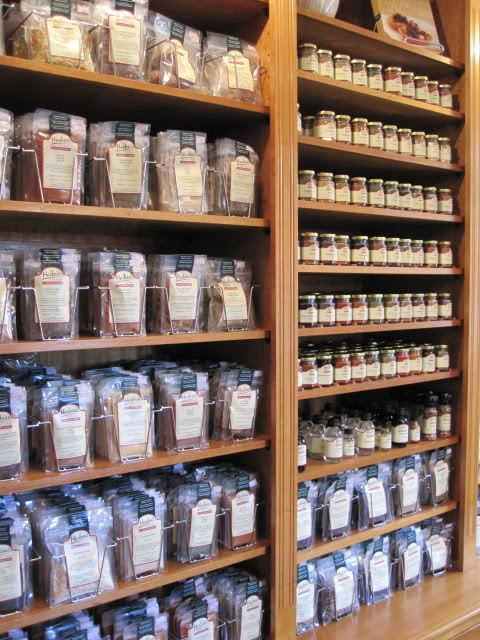 herbs and spices at Herbies