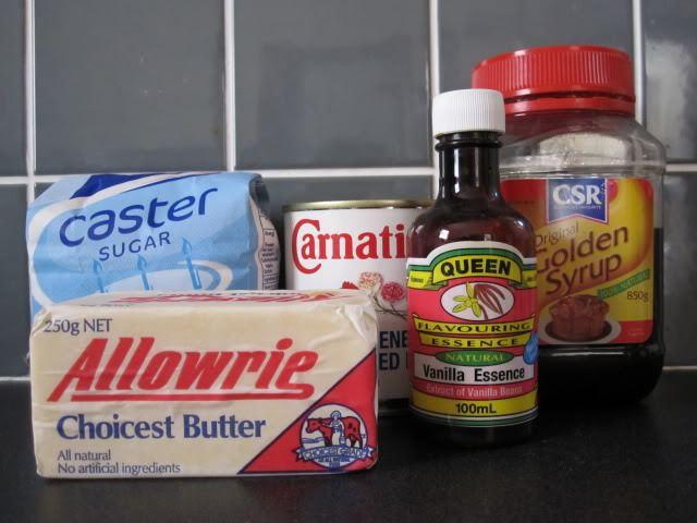 fudge ingredients