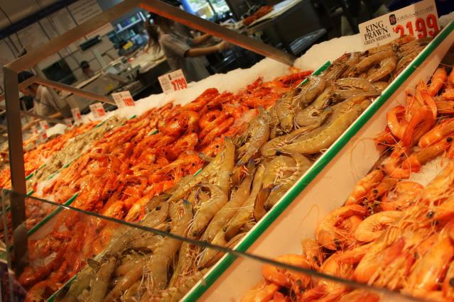 Fish Markets - Prawns